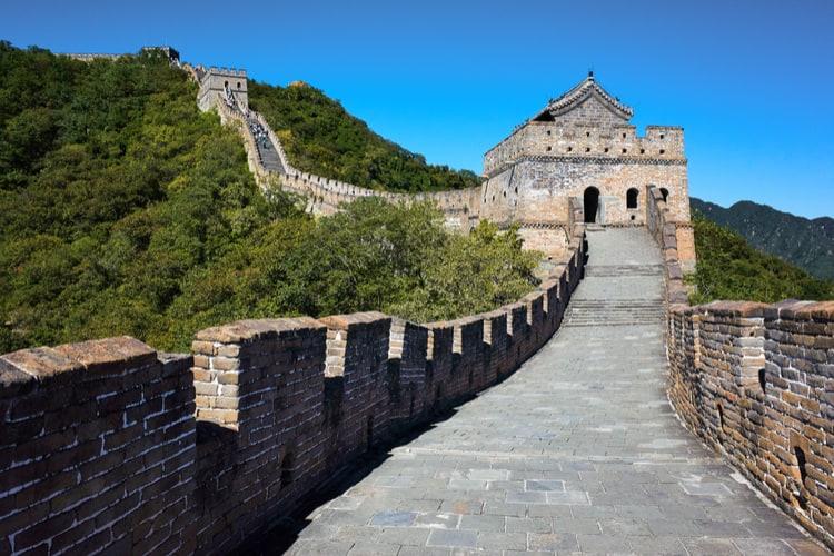 beautiful Great Wall of China