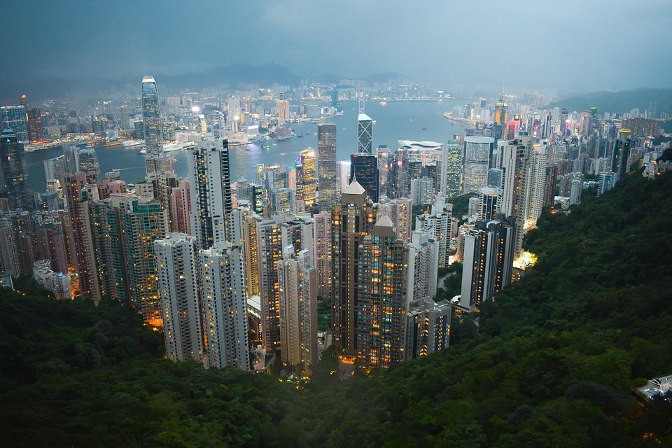 nice place Hong Kong Cityscape