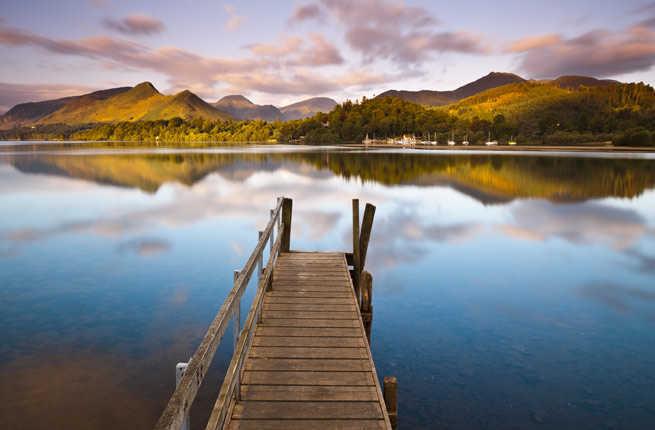 bridge Beautiful Lake Images