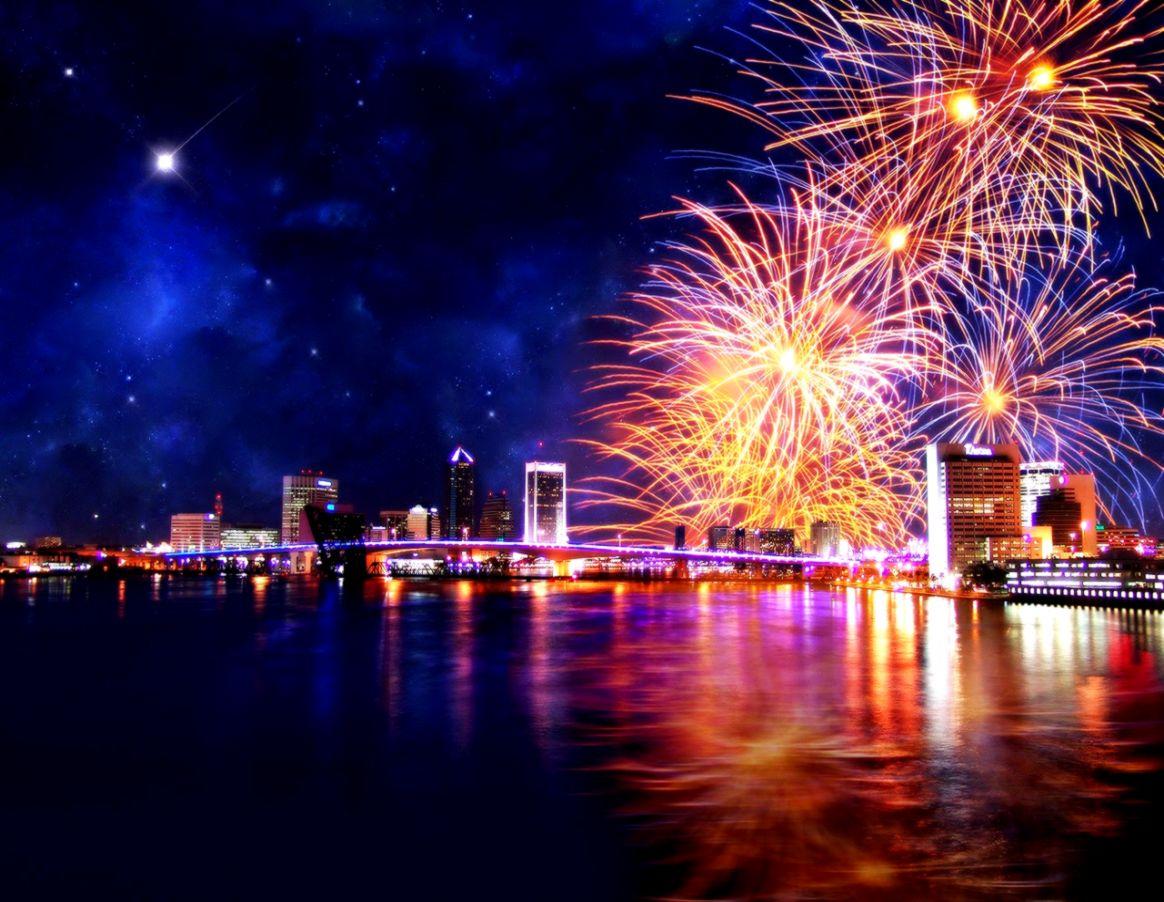 beautiful Happy New Year 4K
