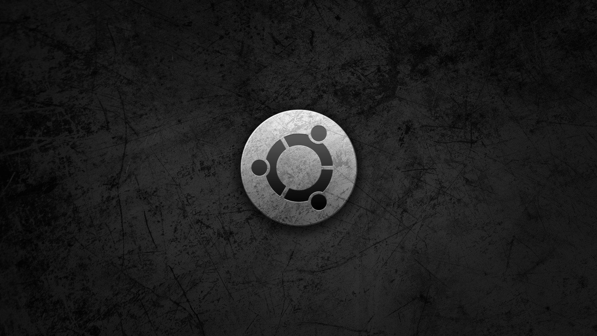 black hd Ubuntu Wallpapers 4K