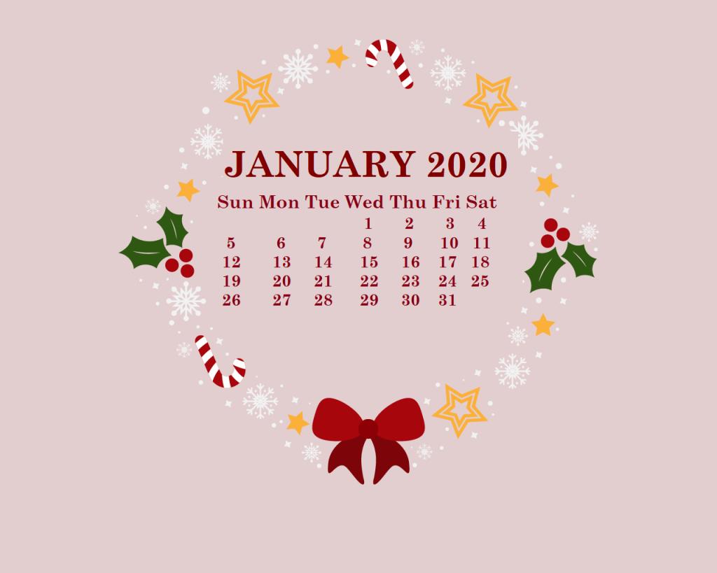 calender 2020 Wallpaper