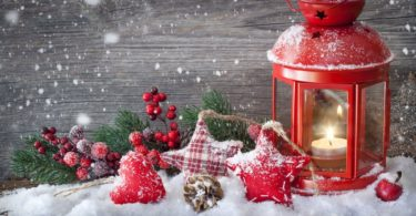 snowfall 4K Christmas Wallpaper