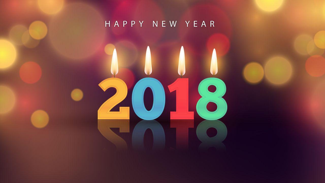 stunning Happy New Year 4K