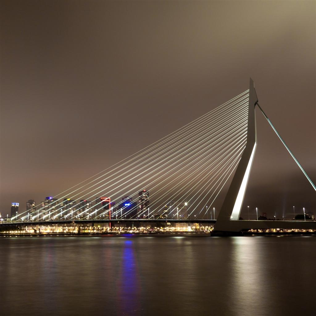 amazing Erasmus Bridge Wallpaper
