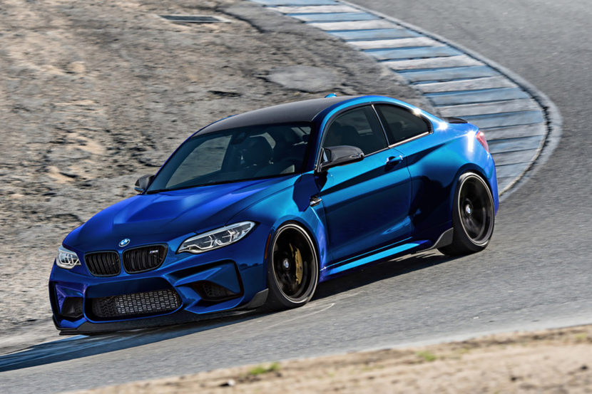 beautiful blue BMW M2 CS Images