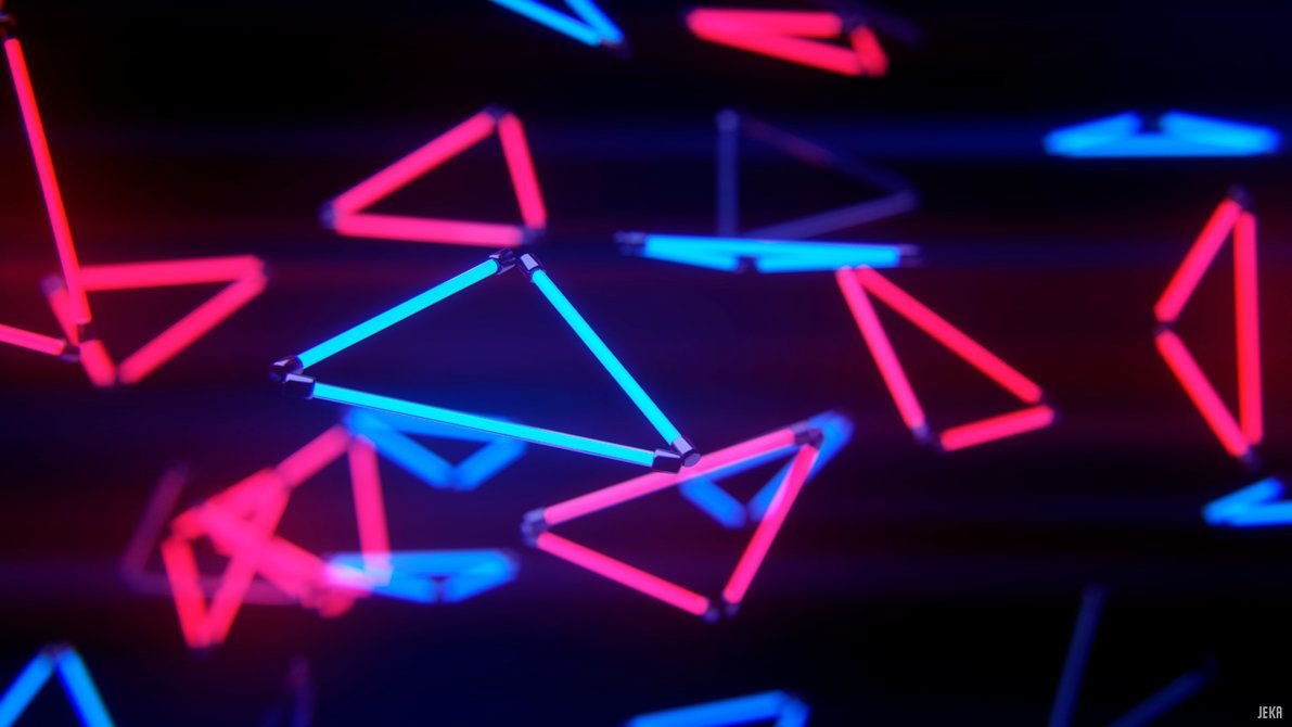 fantastic Neon Wallpapers 4K