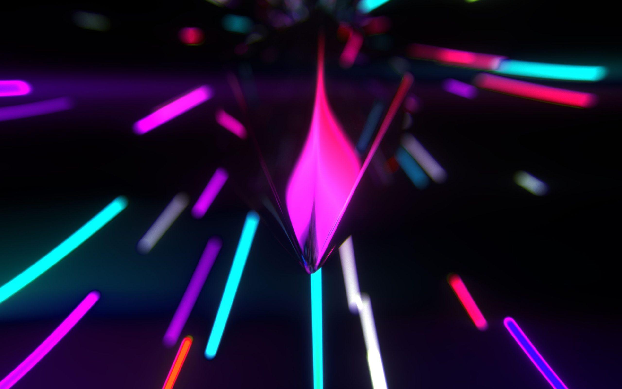 free Neon Wallpapers 4K