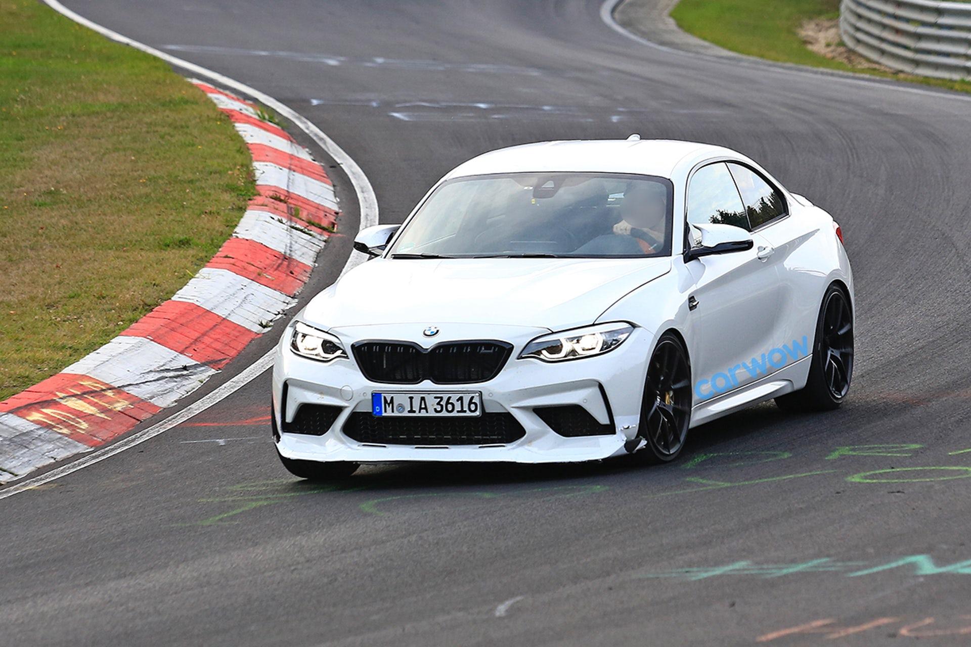 full white BMW M2 CS Images