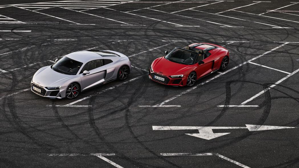 2020 Audi R8 V10 RWD Spyder image