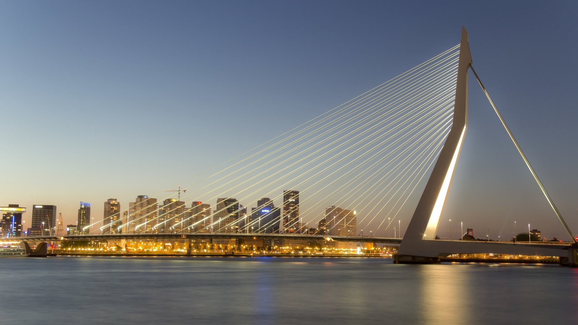 top Erasmus Bridge Wallpaper