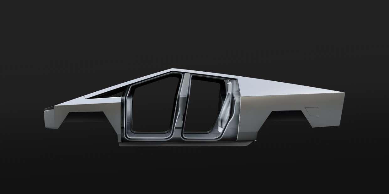 3d Tesla Cybertruck Interior image