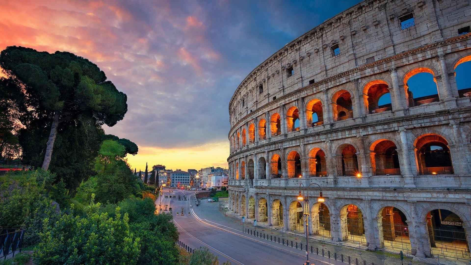 beautiful Colosseum Wallpaper