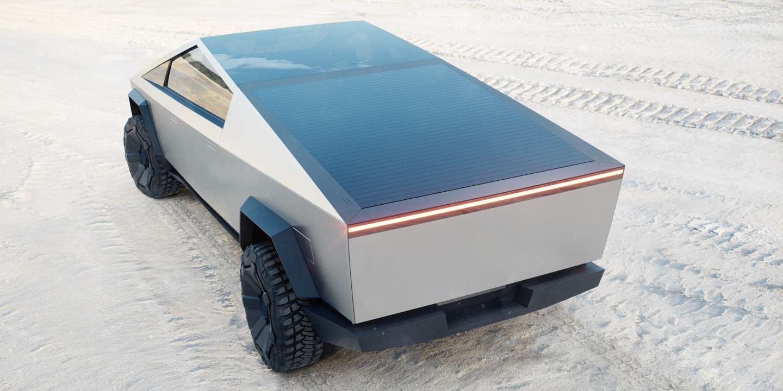 free Tesla Cybertruck Interior