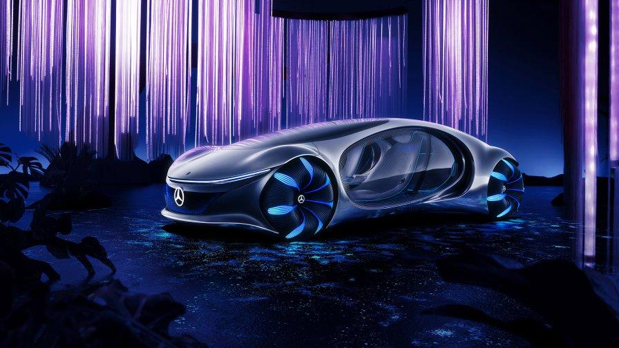 full hd Mercedes-Benz VISION AVTR