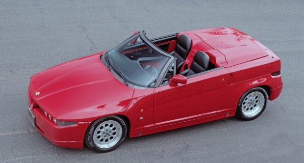 full top Alfa Romeo Zagato
