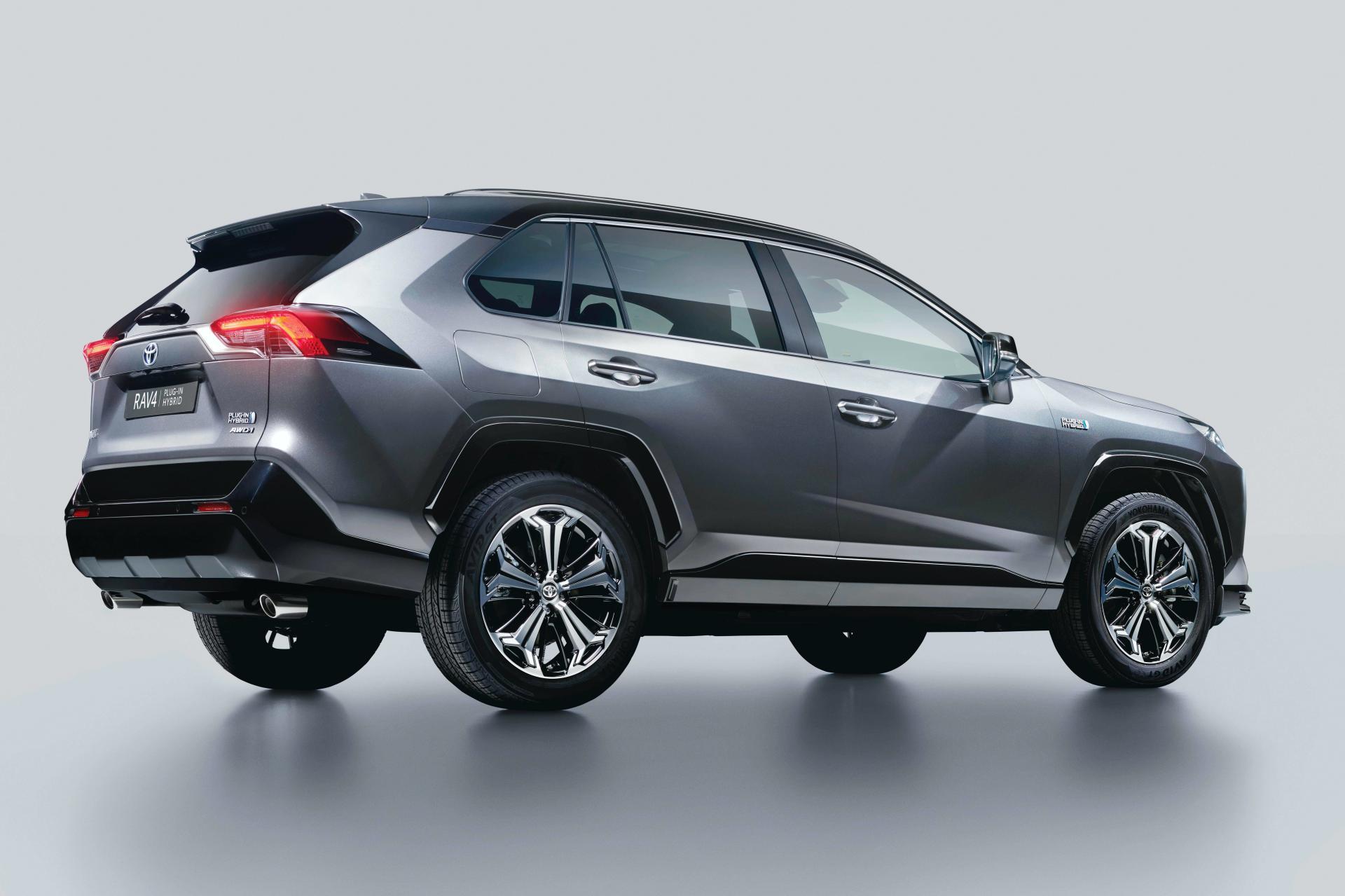 latest model Toyota RAV4 Plug-in Hybrid