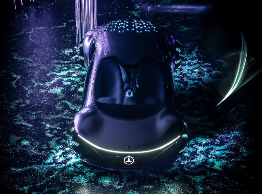 wonderful Mercedes-Benz VISION AVTR