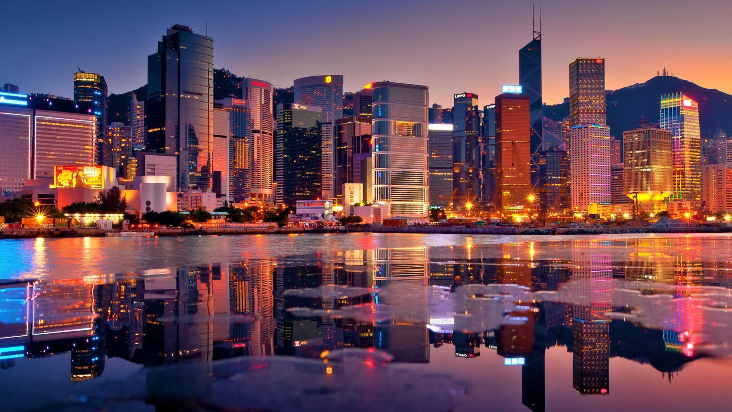 3d Hong Kong Wallpaper