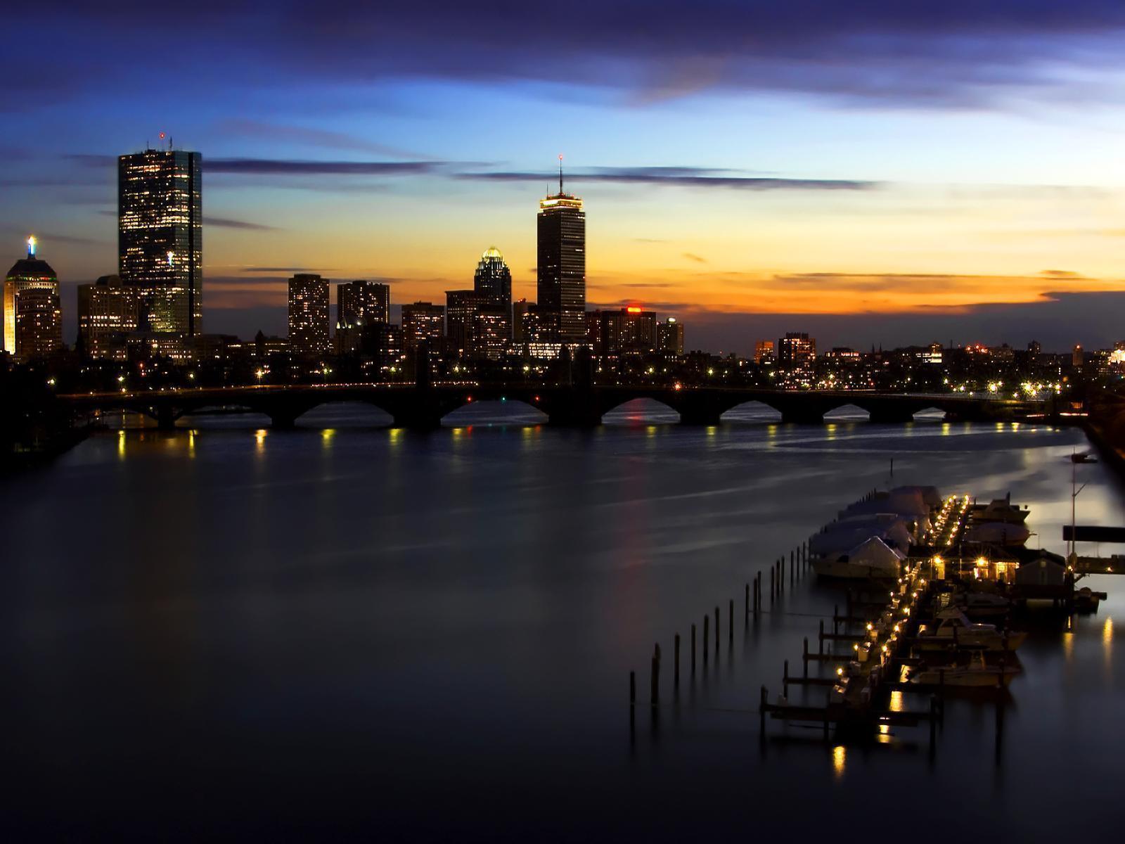 beautiful view City Skyline Wallpapers