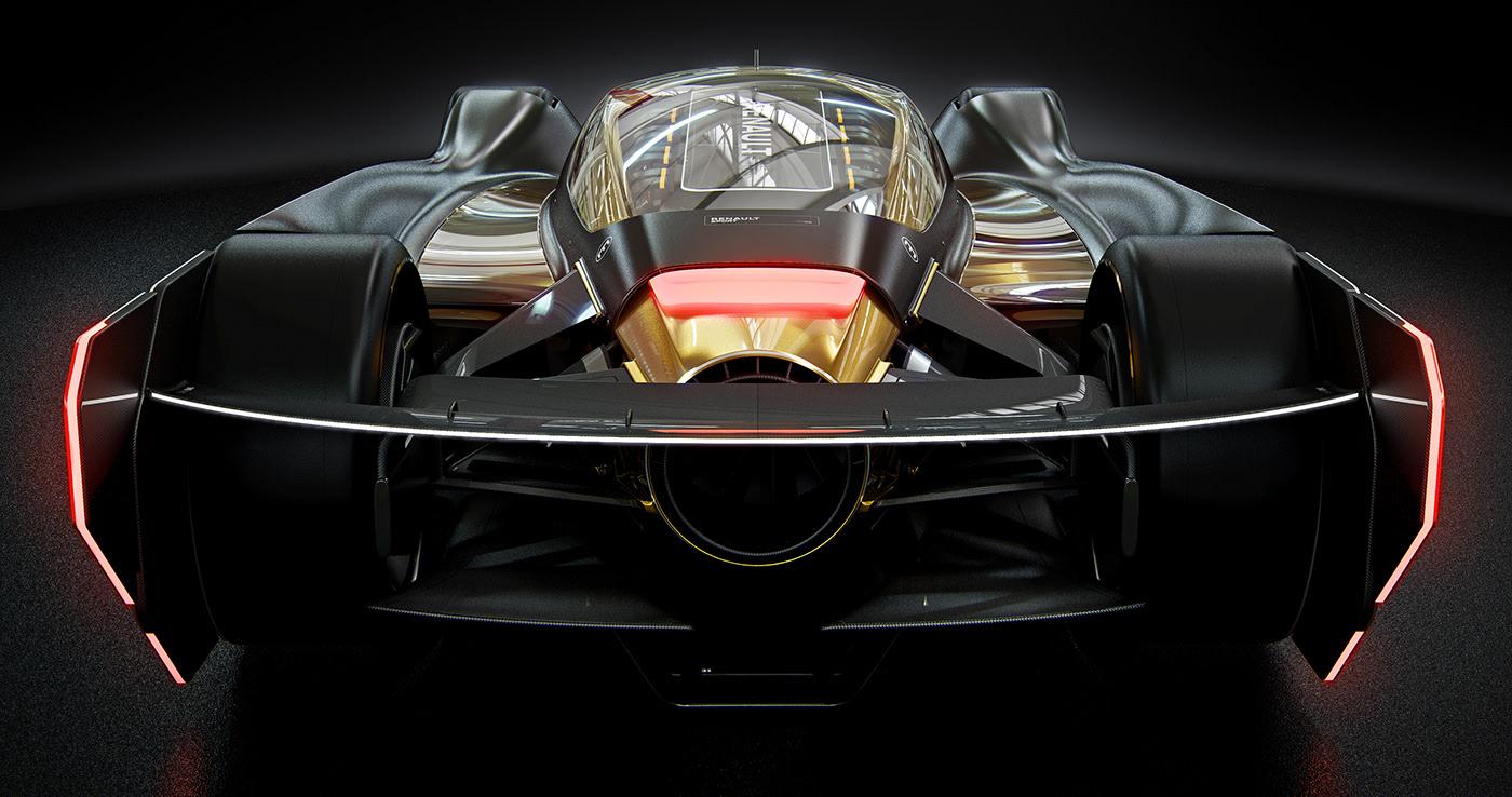front side Renault Le Mans 2029