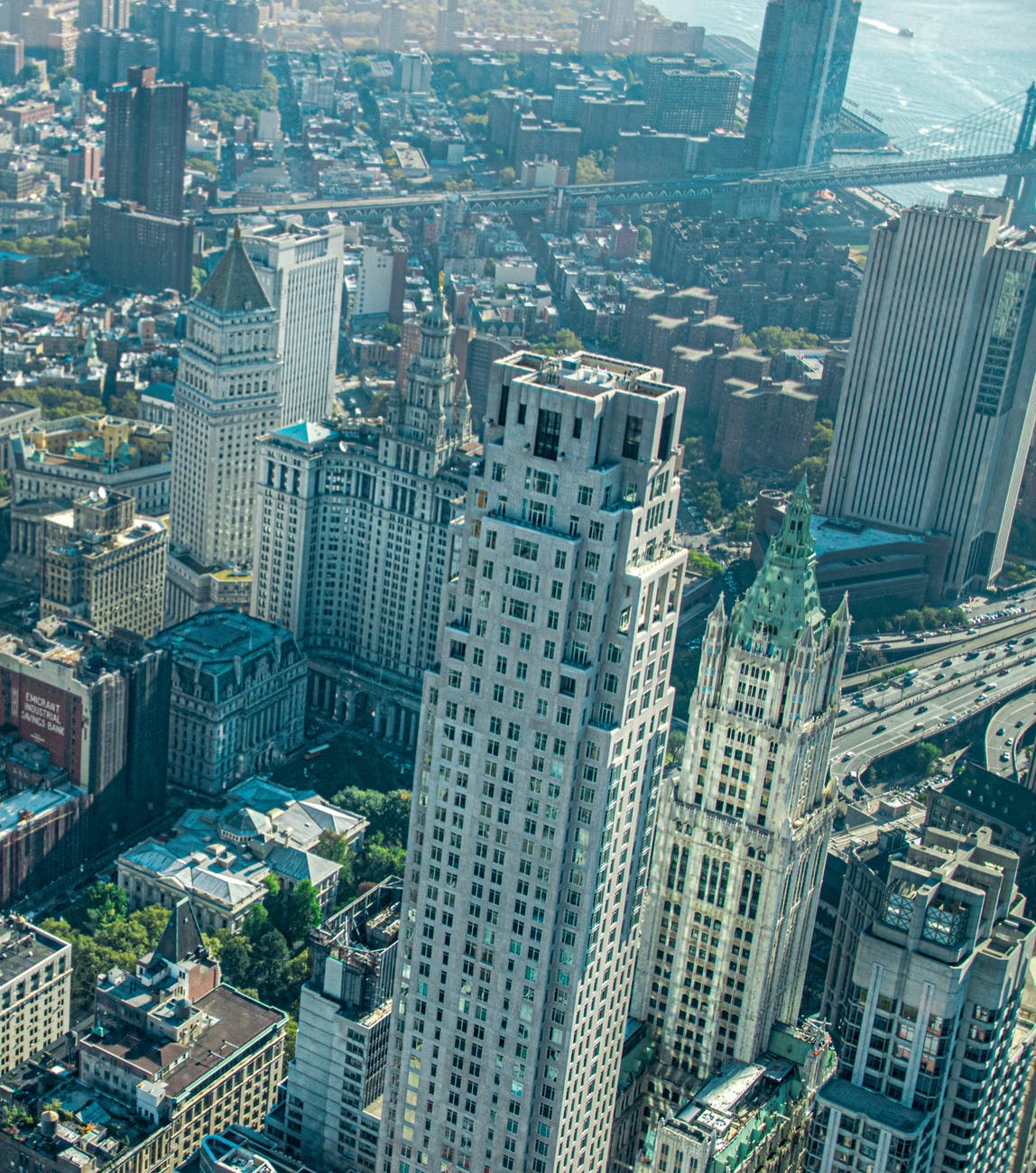 wonderful building New York City Wallpaper