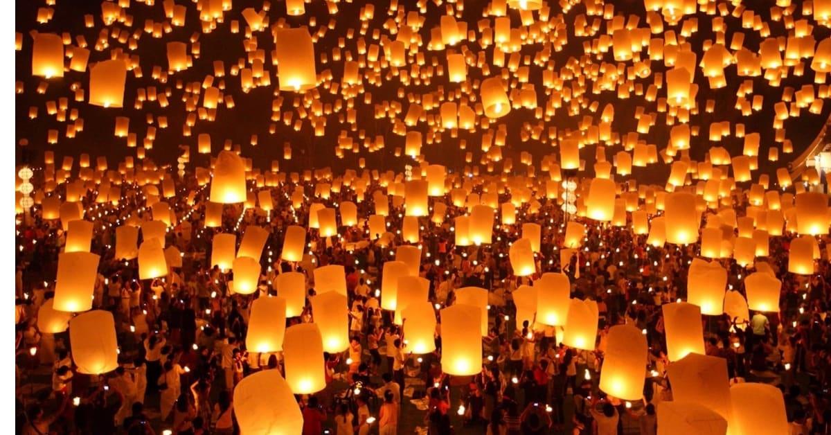 best Yi Peng Lantern Festival