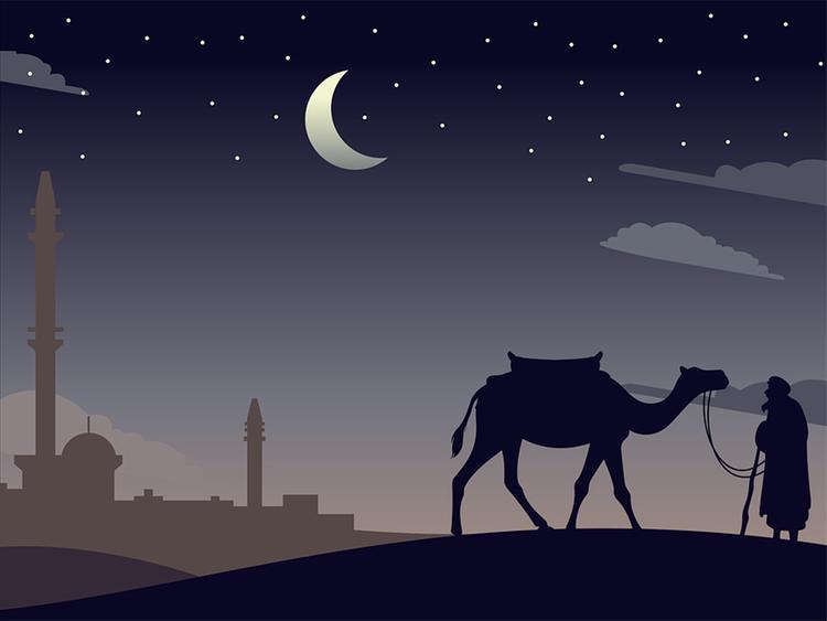 camel Ramadan Kareem wallpaper