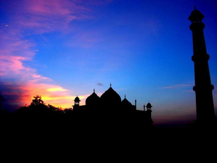 colorful sky HD Islamic Wallpaper