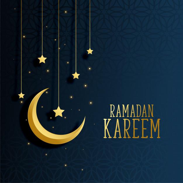 moon star Ramadan Kareem image
