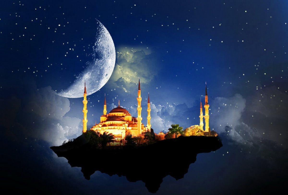 mosque natural islamic wallpaper