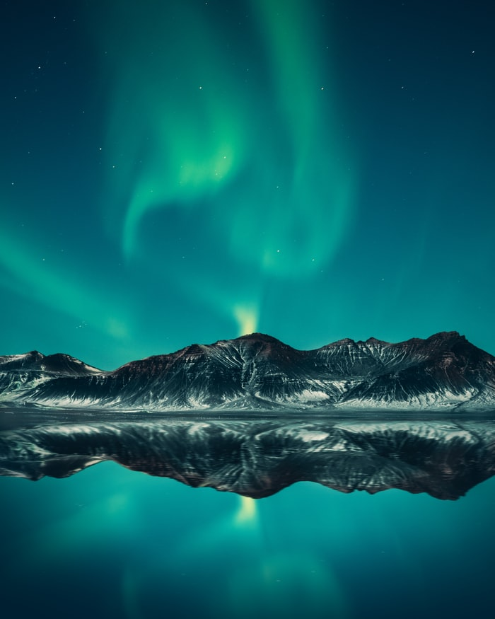 full top Northern Lights Wallpaper