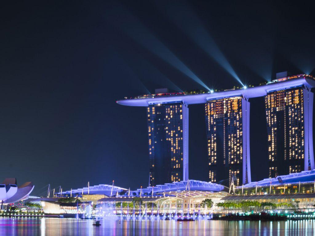 nice view Marina Bay Wallpapers