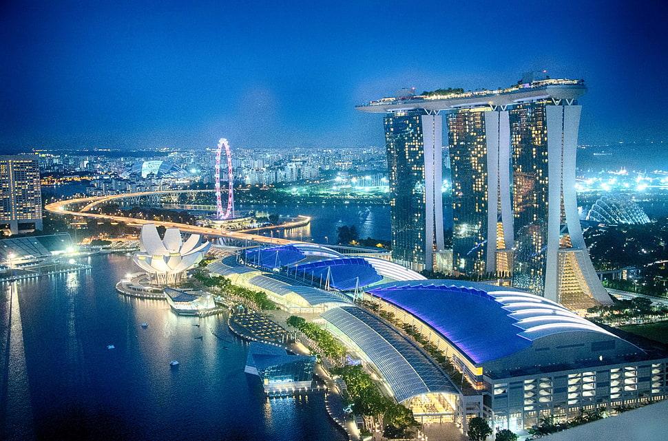 skyline gardens Marina Bay Wallpapers