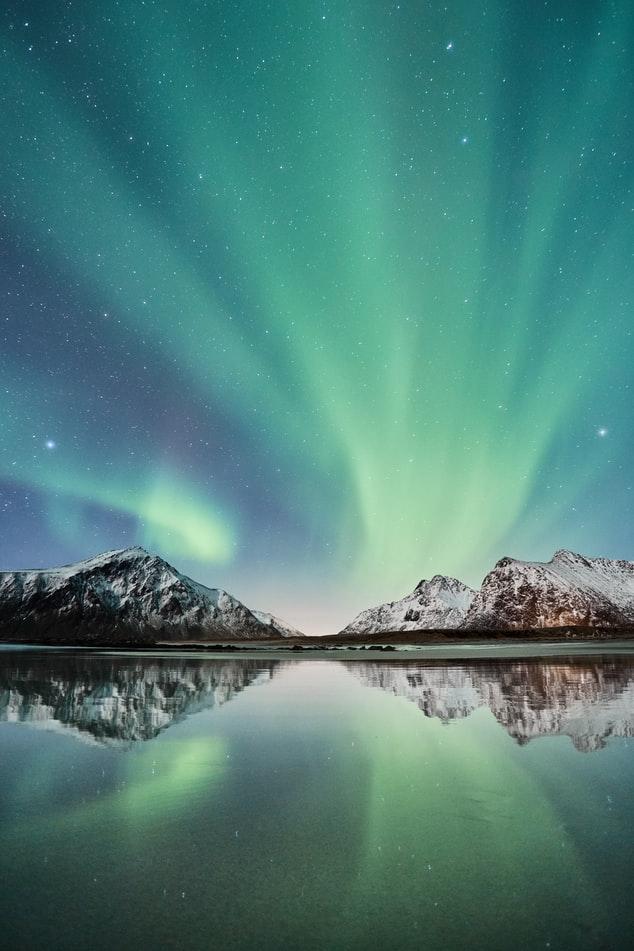 stunning 3d Northern Lights Wallpaper