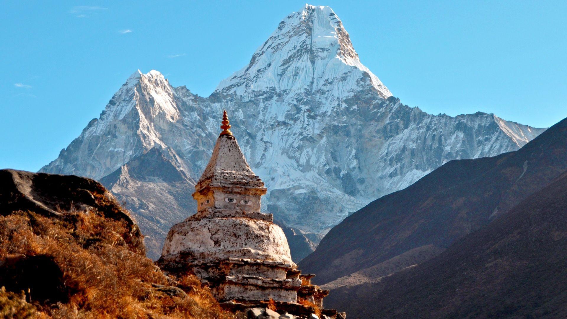 big mountain Himalayas Wallpapers 4K