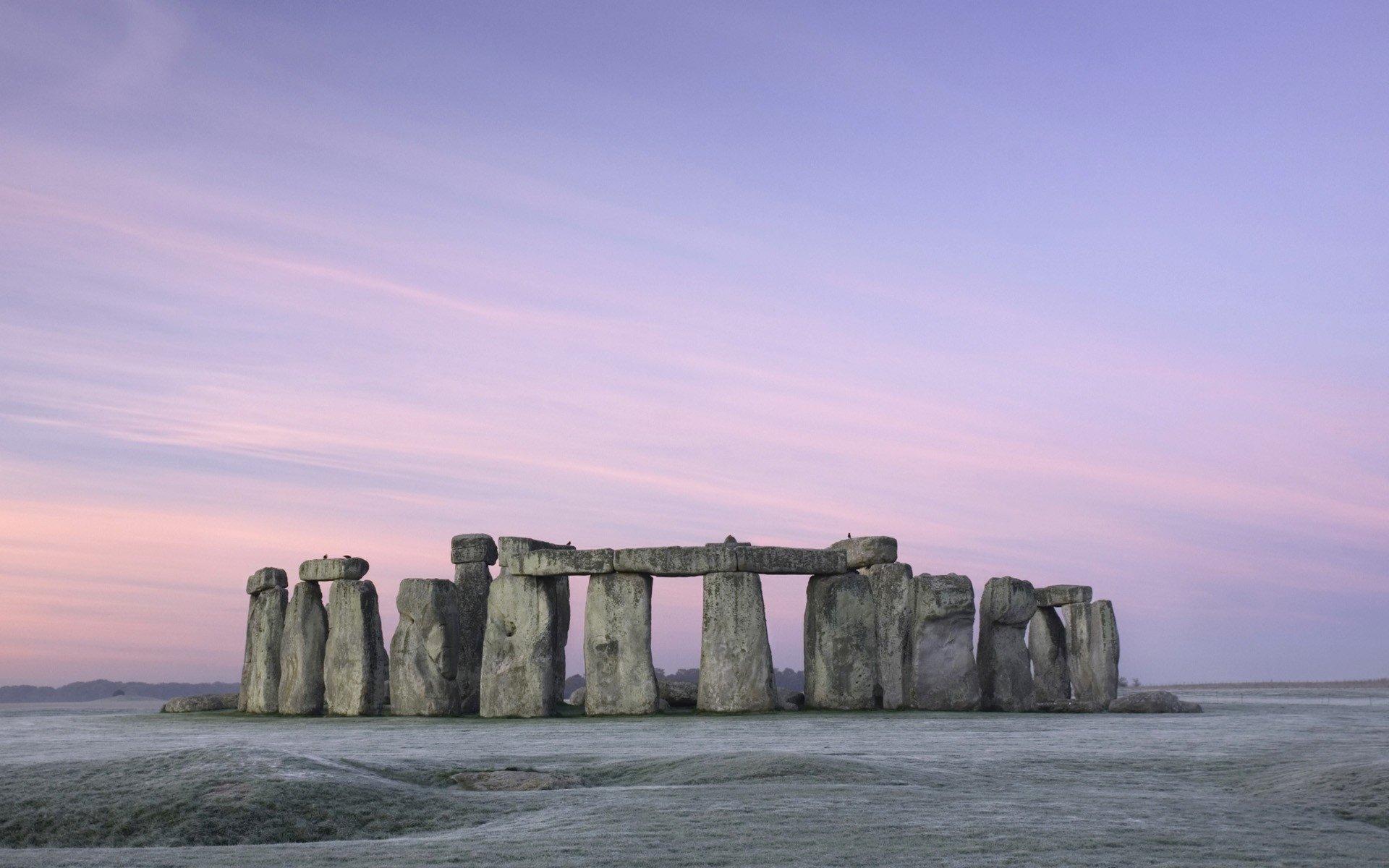 wonderful view Stonehenge Wallpaper