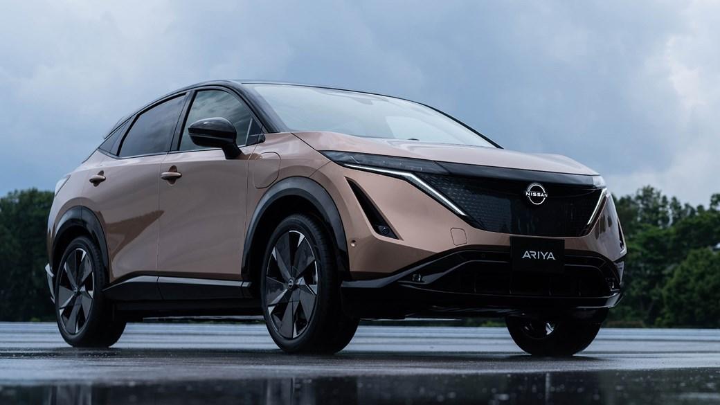 beautiful car Nissan Ariya Interior Images