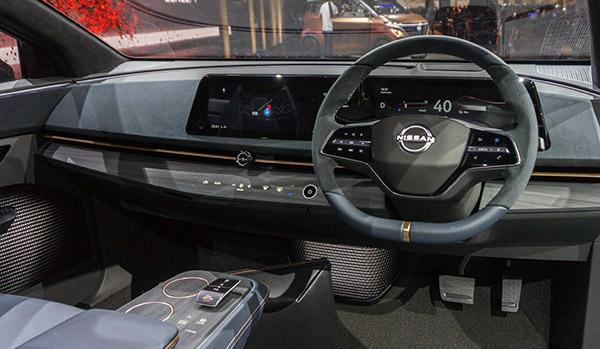 best interior Nissan Ariya Interior Images