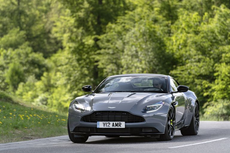 grey car Aston Martin DB11 Images