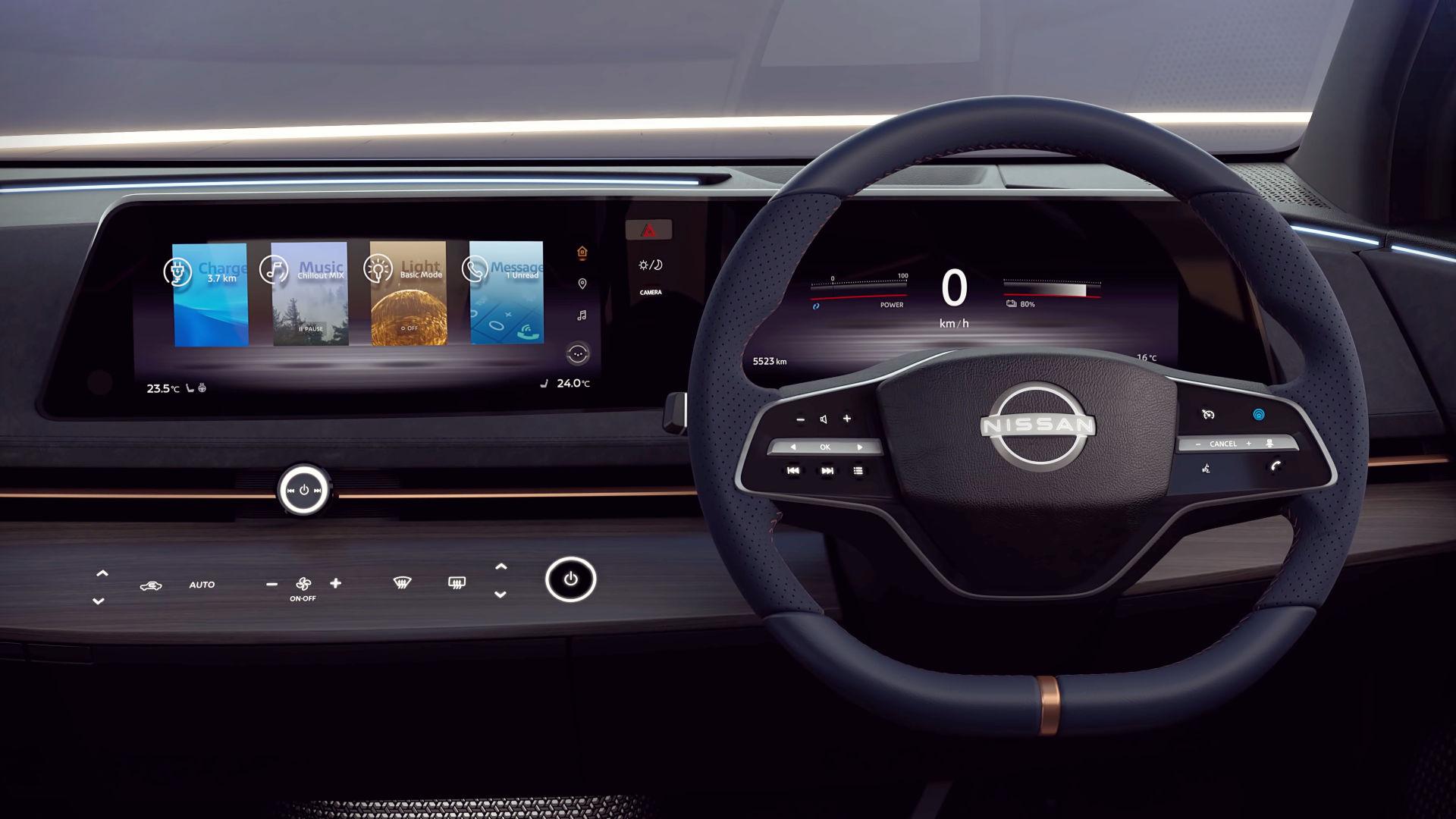 super Nissan Ariya Interior Images