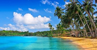 beautiful natural Tropical Beach Wallpaper