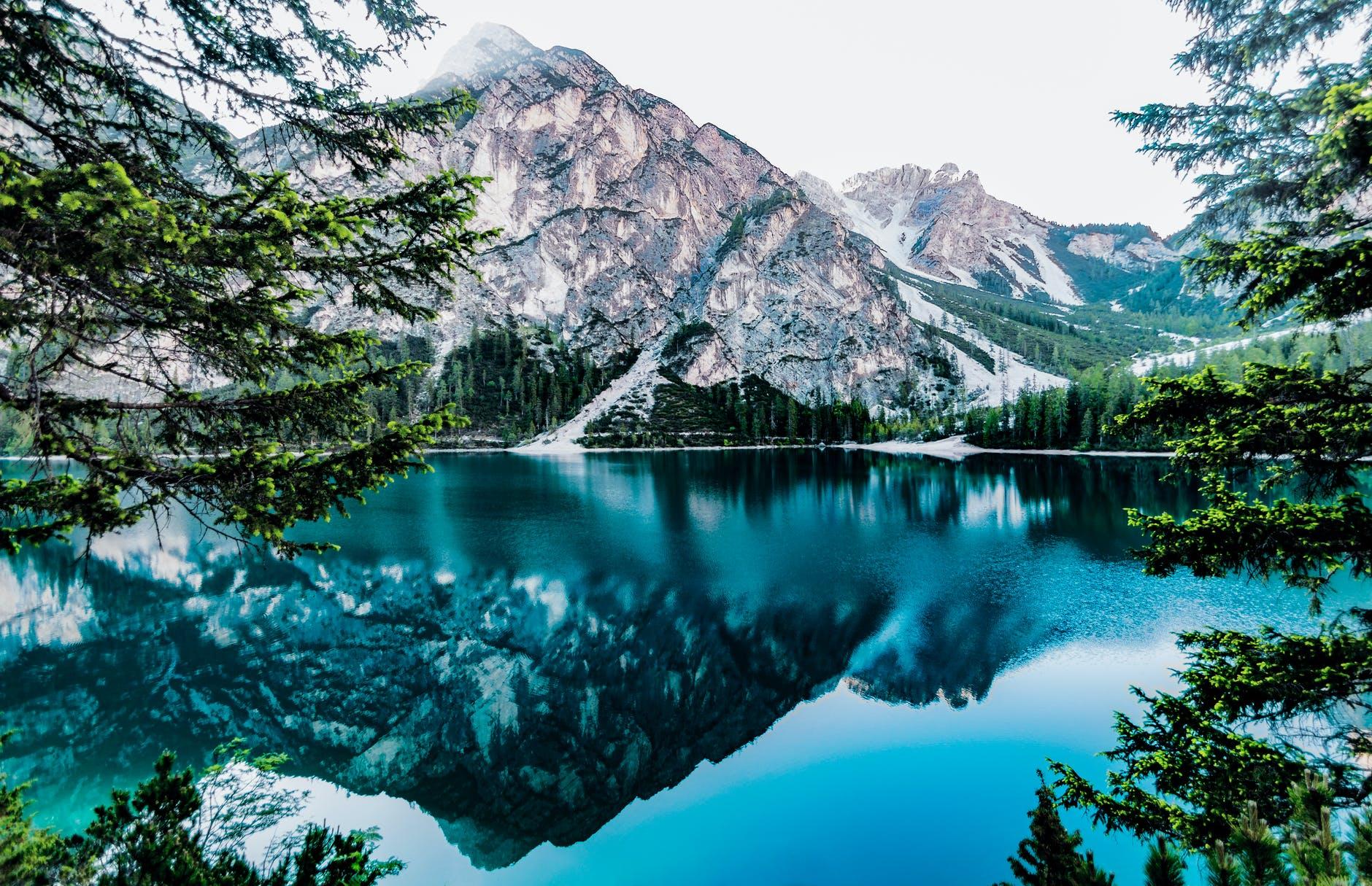 big mountain nature image