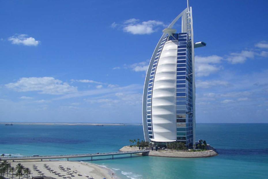 coated glass Burj Al Arab Hotel image