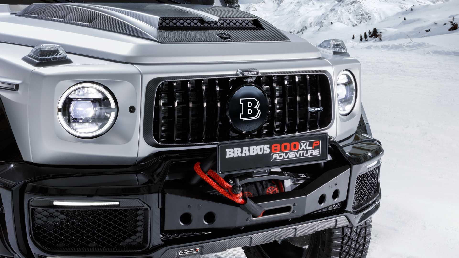 front side Brabus 800 Adventure XLP