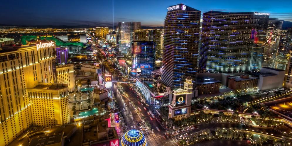 night city Las Vegas Wallpaper