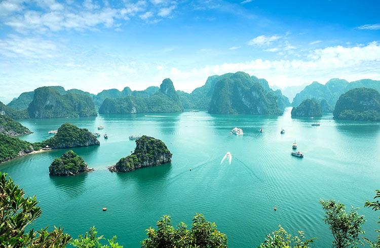 sea natural Ha Long Bay Images