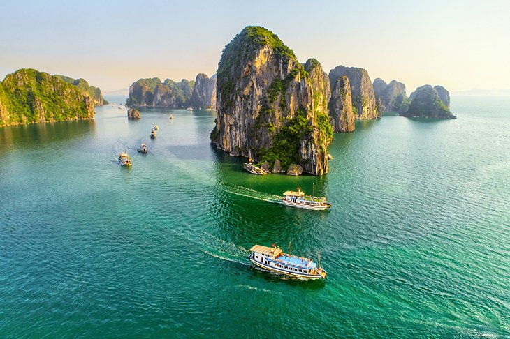 wonderful nature Ha Long Bay Images