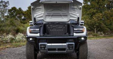 Front Side GMC Hummer EV