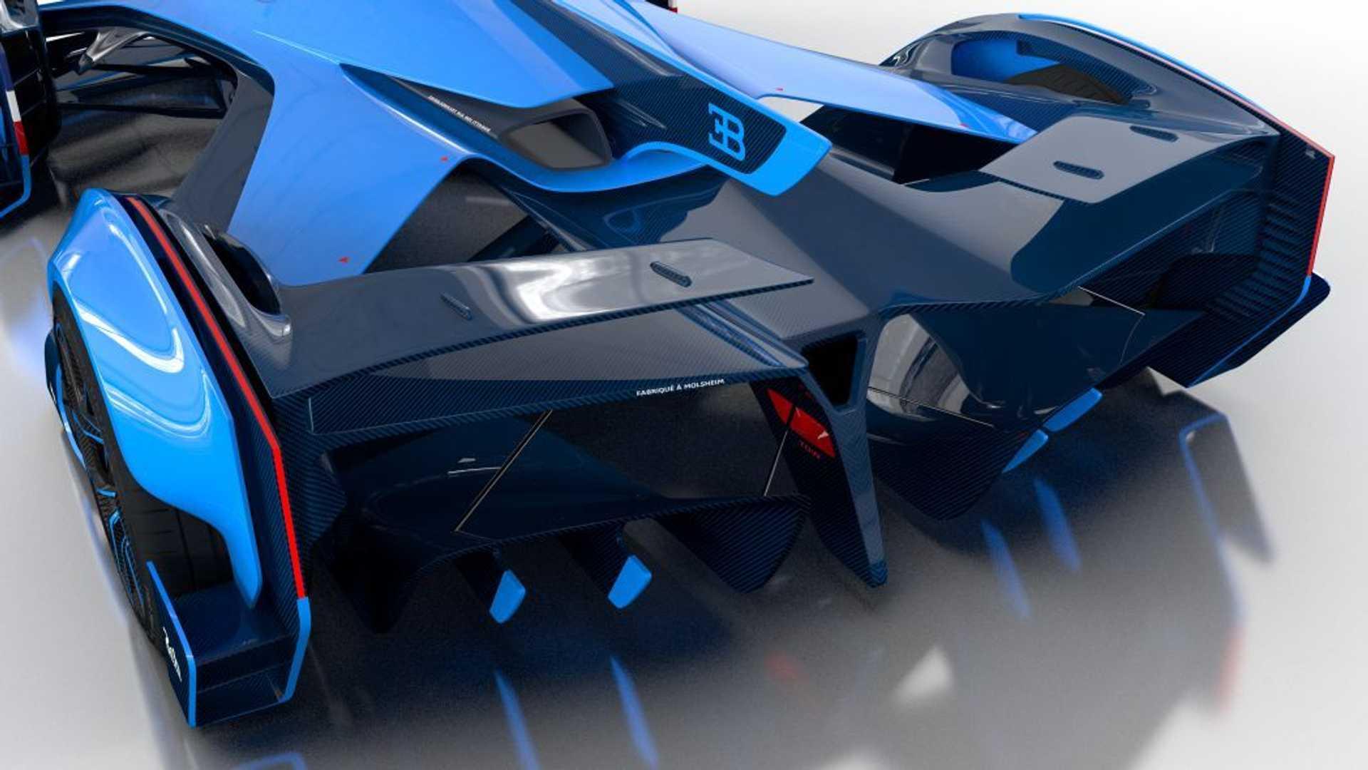 amazing Bugatti Vision Le Mans image